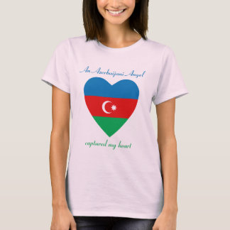 Azerbaijan Flag Sweetheart T-Shirt