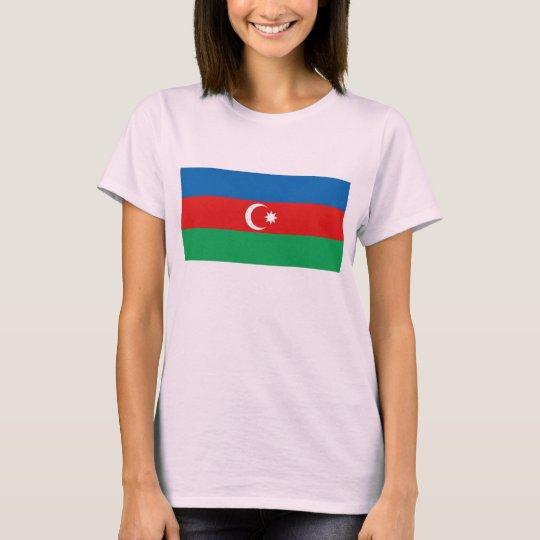 Azerbaijan Flag x Map T-Shirt