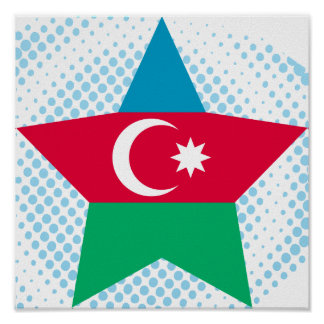 Azerbaijan Star Print