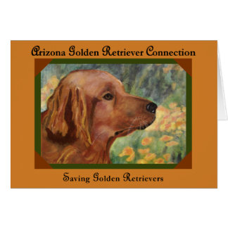 AZGRC Saving Golden Retrievers Card