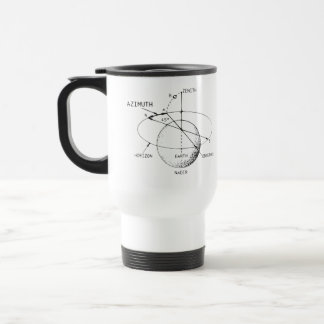 Azimuth Diagram Stainless Steel Travel Mug