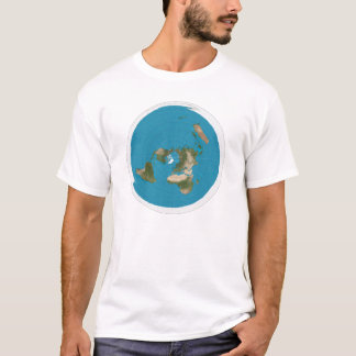 Azimuthal Equidistant map T-Shirt