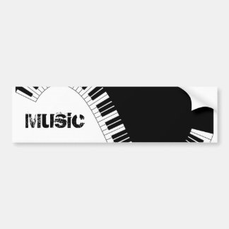 Aziza Keyboard Instruments Car Bumper Sticker