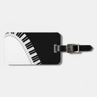 Aziza Keyboard Instruments Luggage Tag