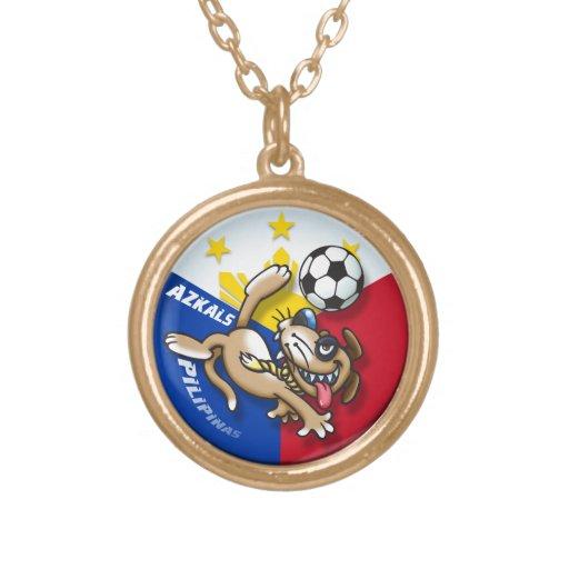 Azkals Soccer Football Action Custom Jewelry