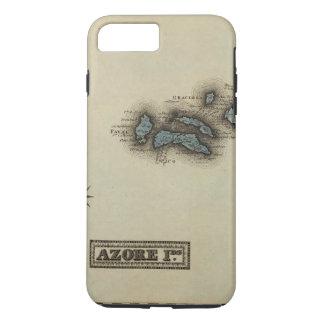 Azore Islands Atlas Map iPhone 8 Plus/7 Plus Case