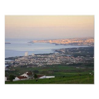 Azores at dawn personalized invite