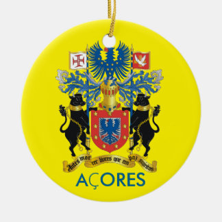 Azores- Flag Christmas Ornament