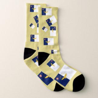 Azores Flag Fun Socks 1
