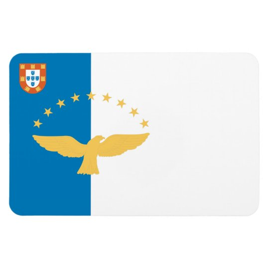 Azores Flag Rectangular Photo Magnet