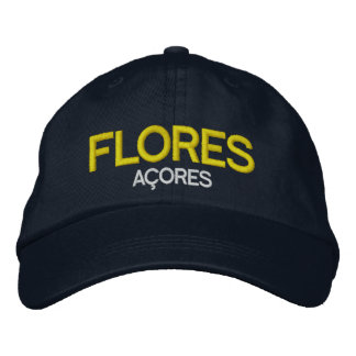Azores - Flores Embroidered Hat