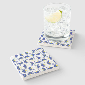Azores islands flag stone coaster
