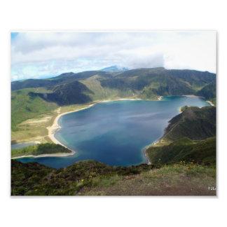 Azores Islands Nature Print Photo Print