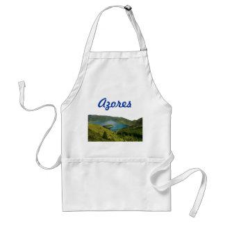 Azores lake landscape standard apron