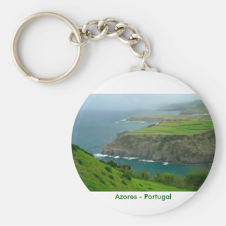 Azores landscape key ring