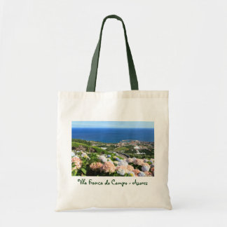 Azores landscape budget tote bag