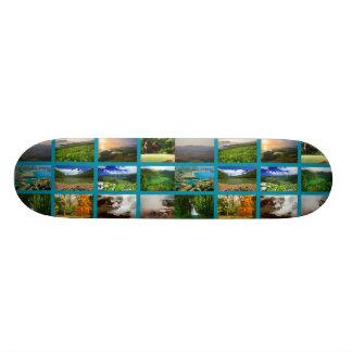 Azores Landscapes 19.7 Cm Skateboard Deck