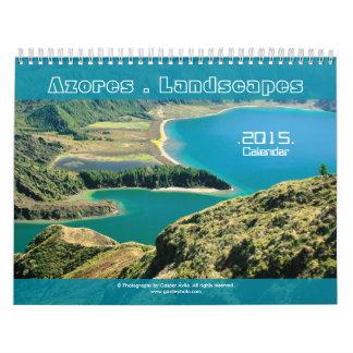 Azores Landscapes Photograpphy 2015 Calendar