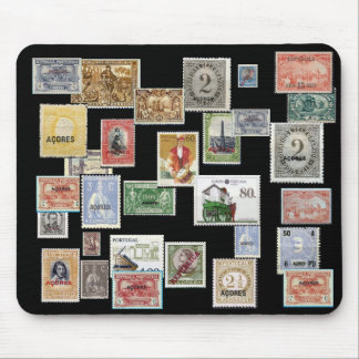 AZORES Postage Stamp Mousepad