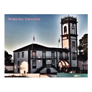 Azores -Ribeira Grande Postcard