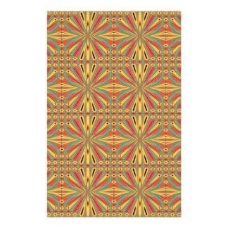 Aztec American Pattern. Multicolor Design 14 Cm X 21.5 Cm Flyer