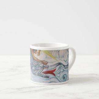 Aztec and Dragon Espresso Cup