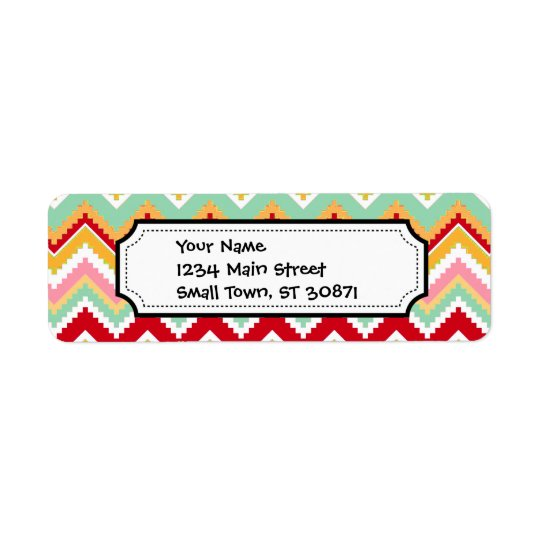 Aztec Andes Tribal Mountains Chevron Fiesta ZigZag