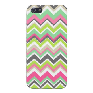Aztec Andes Tribal Mountains Chevron Zig Zags iPhone 5/5S Case