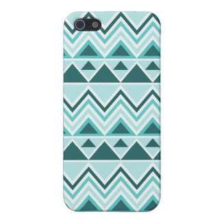 Aztec Andes Tribal Mountains Triangles Chevrons iPhone 5/5S Cover
