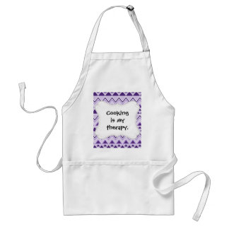 Aztec Andes Tribal Mountains Triangles Chevrons Standard Apron