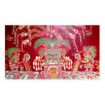 Aztec Art on Red Design Pack Of Standard Business Cards