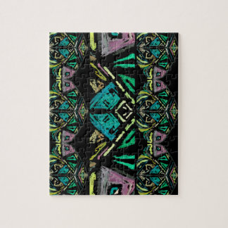 Aztec Art Puzzle