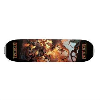 Aztec Attack Skate2 Skate Board Deck