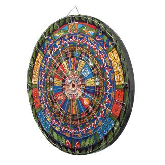 Aztec Calendar Dartboard