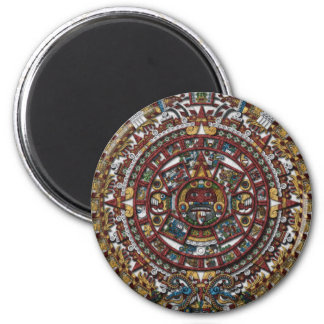Aztec Calendar Fridge Magnet
