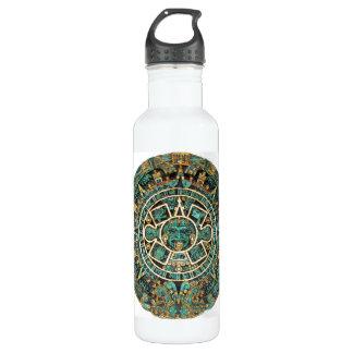 Aztec Calendar in detail 710 Ml Water Bottle