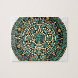 Aztec Calendar in detail Puzzles