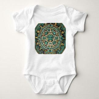 Aztec Calendar in detail T-shirt