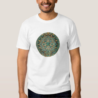 Aztec Calendar in detail Tee Shirts