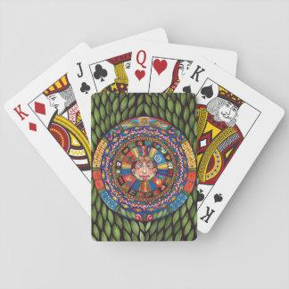 Aztec Calendar playing cards