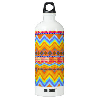 Aztec Chevron Andes Pattern Water Bottle