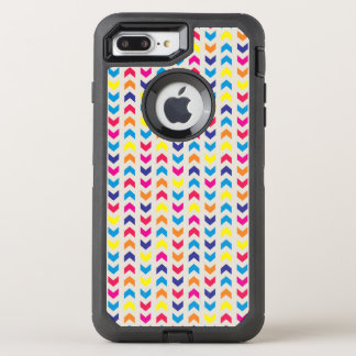 Aztec Chevron colorful OtterBox Defender iPhone 8 Plus/7 Plus Case