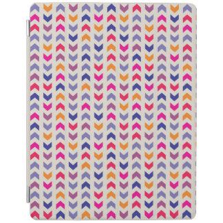 Aztec Chevron colorful pattern iPad Cover