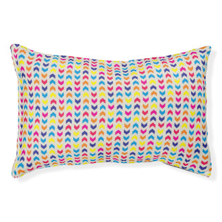 Aztec Chevron colorful Pet Bed
