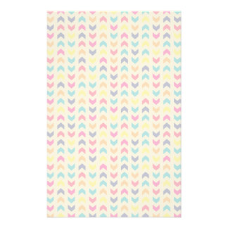 Aztec Chevron colorful Stationery