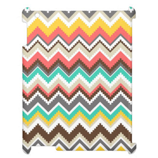 Aztec Chevron Stripes iPad Cover