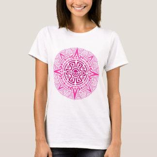 Aztec circle Pink T-Shirt