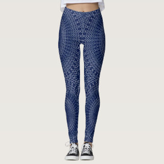 AZTEC CIRCLES LEGGINGS