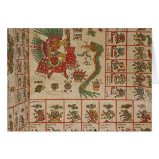 Aztec Codex Borbonicus Card