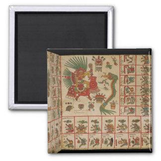 Aztec Codex Borbonicus Magnet